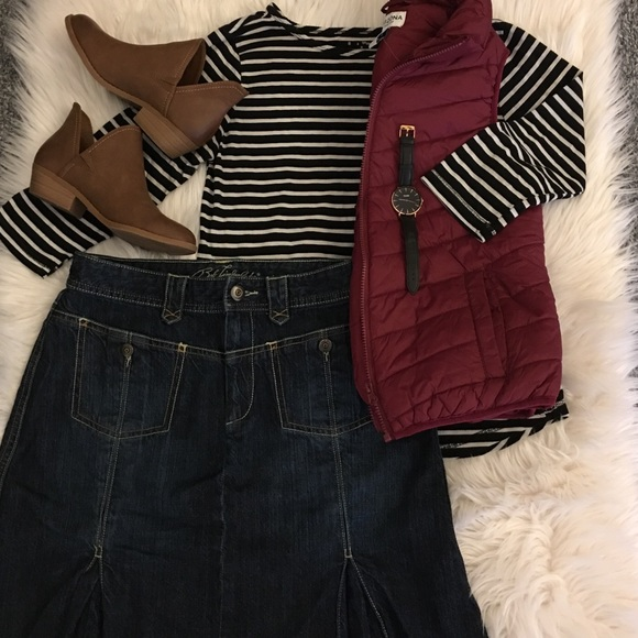 Bob Timberlake Dresses & Skirts - Denim midi skirt